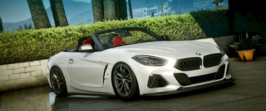 BMW Z4 [Add-On | Extras | Wheels | Animated Roof | LODs]