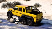 Mercedes Mansory Gronos 6x6 Xtreme [Add-On /Replace]