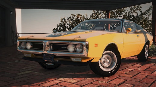 1971 Dodge Charger Superbee [Add-On | Extras| LODs]