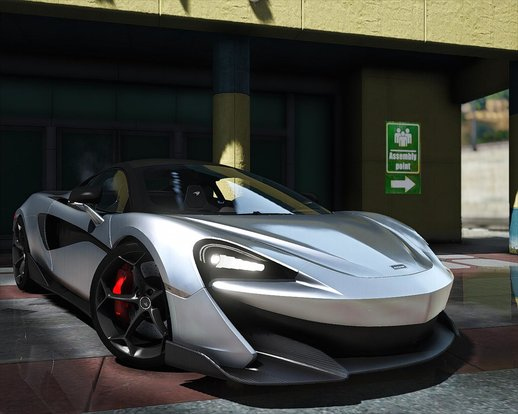2019 McLaren 600LT [Add-On]
