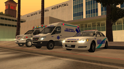 San Andreas EMS Pack