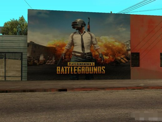 PUBG Wallgraffiti
