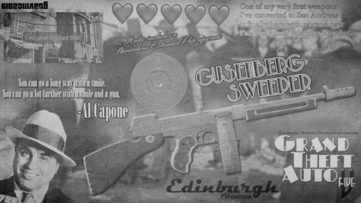 GTA V Edinburgh Gusenburg Sweeper [GTAinside.com Release]