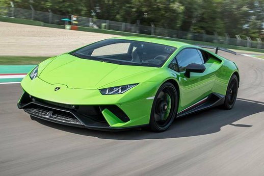 Lamborghini Huracan Performante Real Sound