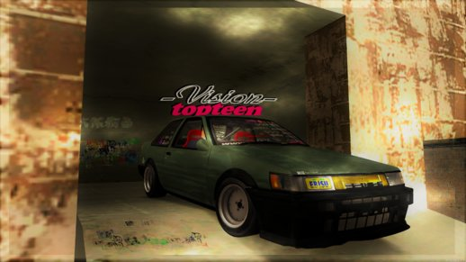 Toyota AE86 Levin (Coupe) -Vision TopTeen-