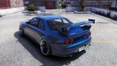 Nissan Skyline R33 [Add-On | Extras | Tuning]