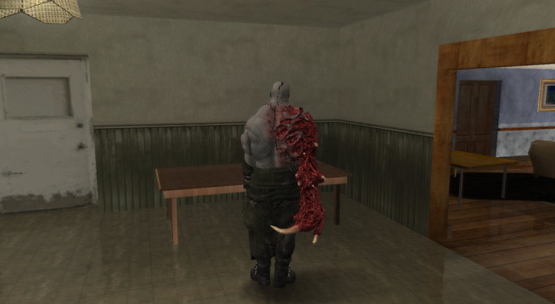 Gta San Andreas Mr X Super Tyrant From Re2 Remake Mod