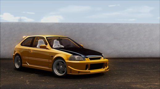 Honda Civic Hatchback Tuned