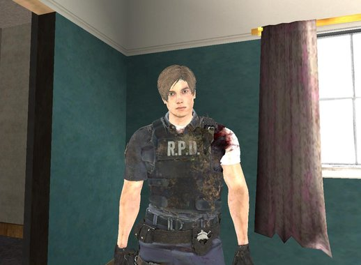 Leon Bandaged (from RE2 remake)