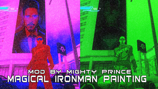 Ironman/Tony Stark Magical Painting