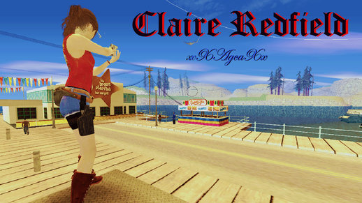 Claire Redfield (RE The Darkside Chronicles Version)