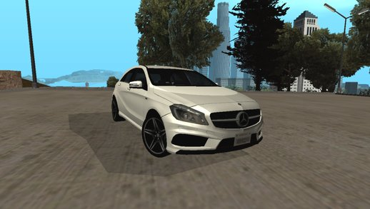 2016 Mercedes Benz AMG 250 Lowpoly