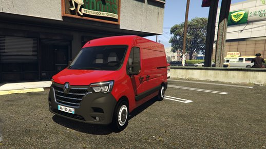 Renault Master L2H2 2019 [ADD-ON / REPLACE]
