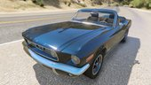 Ford Mustang 1967 Bullit convertible