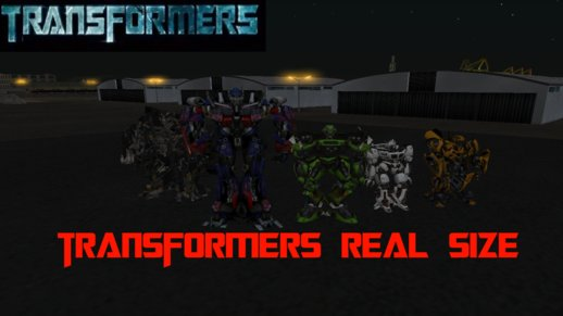 Transformers Real Size Pack