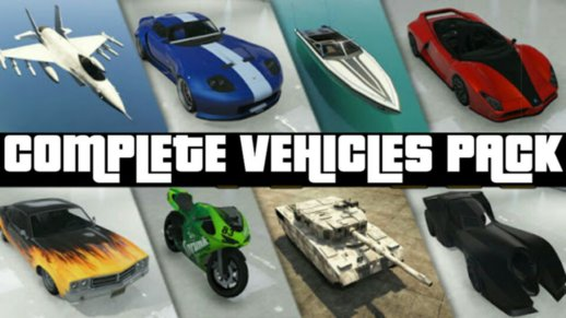 GTA V Complete Car Pack For Android