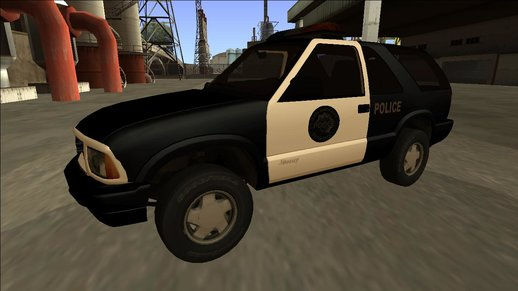 2001 GMC Jimmy Police