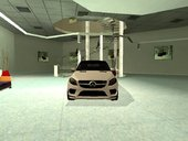 Mercedes Benz GLE 350 Coupe Lowpoly