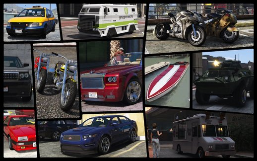 GTA IV Complete Vehicles Pack For Android