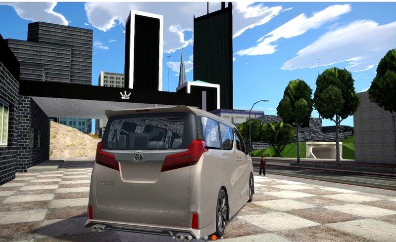 Gta San Andreas Toyota Alphard Hybrid Executure Lounge Trd Mod Gtainside Com
