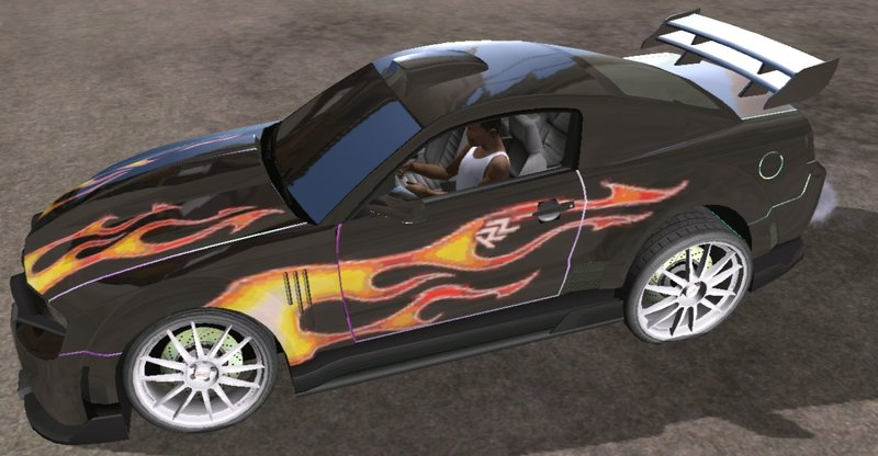 Gta San Andreas Razor S Ford Mustang Gt For Mobile Mod Gtainside Com