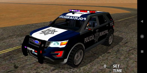 Ford Explorer Police Dff Only