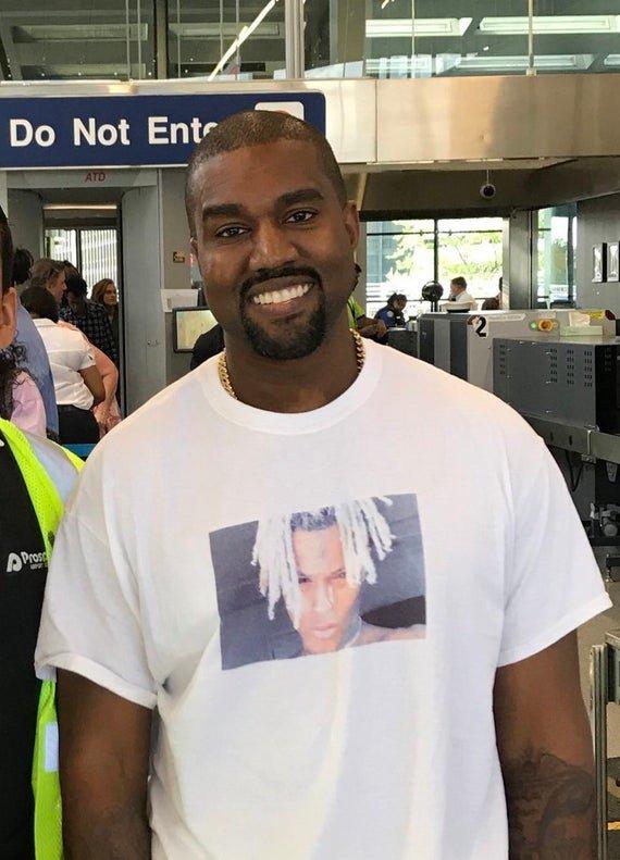 Gta San Andreas White Xxxtentacion Shirt Kanye West Style Mod Gtainside Com