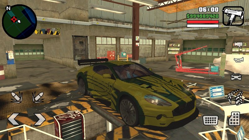 Gta San Andreas Ronnie S Aston Martin Db9 Blacklist 3 Nfs Mw Mod Gtainside Com