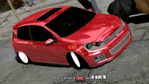 Volkswagen Golf GTI Edited (only dff)