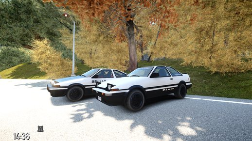 Toyota Corolla Ae86 (Hatchback & Coupe)