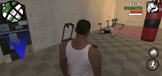 The Gym in CJ house