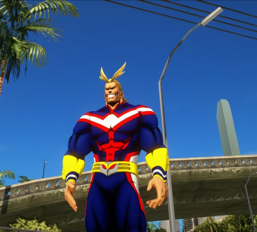 All Might from My Hero Academia