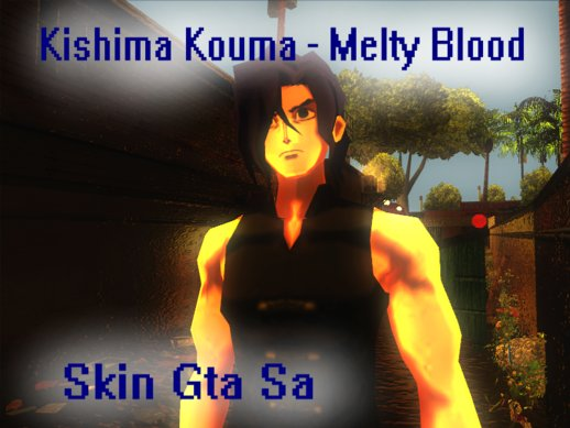 Kishima Kouma - Melty Blood