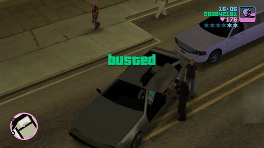 Vice City Rosenberg Busted Audio