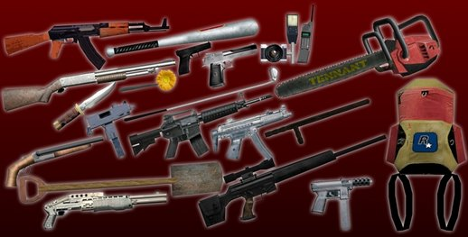 Rockstar Weapons Pack