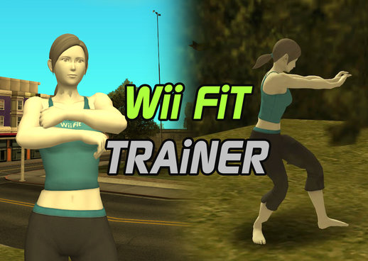 Wii Fit Trainer from Smash Ultimate