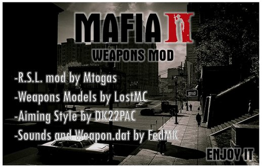 Weapons and Sounds from Mafia II
