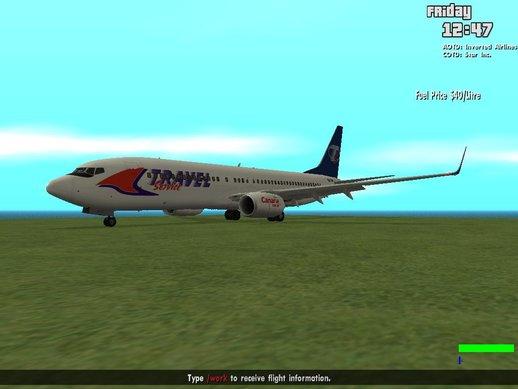 波音737-800旅行服务(新)
