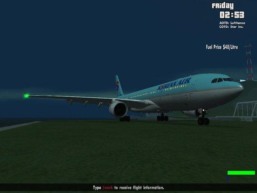空客A330-200大韩航空