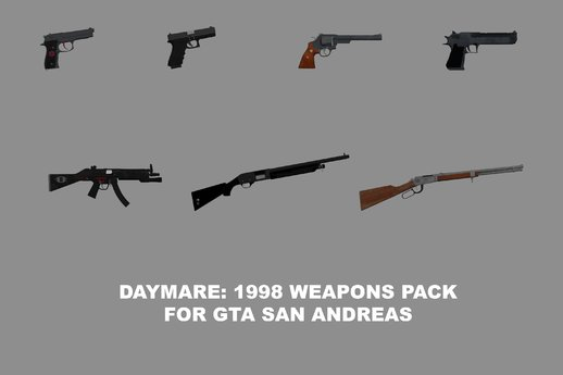 Daymare: 1998 Weapons Pack