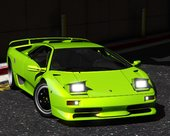 Lamborghini Diablo SV 1995-2001 [ Add-On | Template | Extras ]