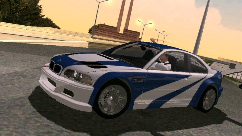 Gta San Andreas Bmw M3 Gtr E46 2004 Fixed Black Cleo For Mobile Mod Gtainside Com