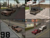More Cars on Traffic Around San Andreas State (Custom CARGRP.DAT & POPCYCLE.DAT)