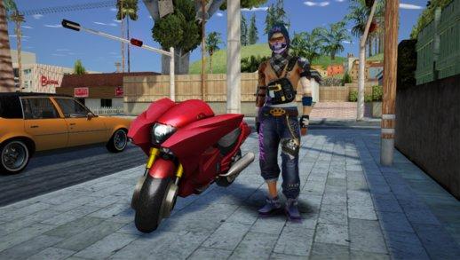 免费消防摩托车