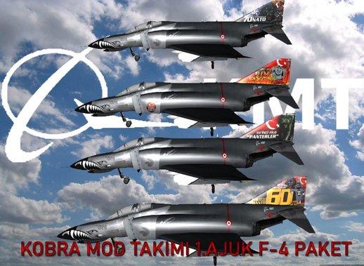 土耳其空军F-4E Phantom 2020手提包-土耳其人哈瓦·库维维特里