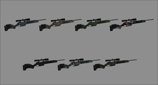 Scout Elite Sniper Rifle Skins Pack
