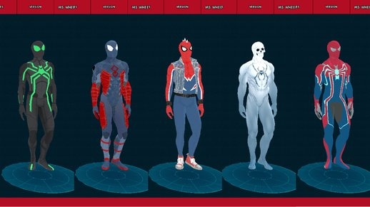 Spider-Man PS4 20 Suits Pack
