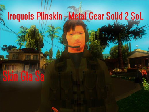 Iroquois Plinskin - Metal Gear Solid 2 Sons of Liberty