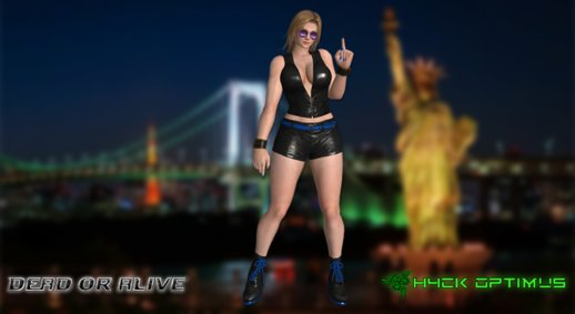 DOA Tina Armstrong Short Leather Suit