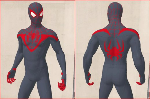 Spider-Man Miles Morales PS5 Skin